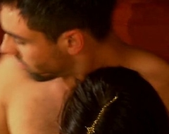 Sensual Indian Couple Lovers Immigrant India
