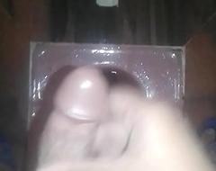 Fat Indian Boy masturbating in washroom together with ejaculates a popular load