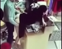 Girlfriend hardly fuck doggy position inside shop 1494353413120