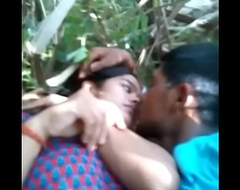 Desi unladylike sex with bf outdore