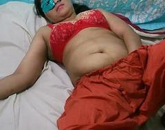 Swathi Indian Bhabhi Wide White-hot Shalwar Suit Masturbation