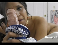 Slutty Indian sister wants to play with your penis with Hindi roleplay